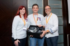 Award winning diamond set of intranet practitioners