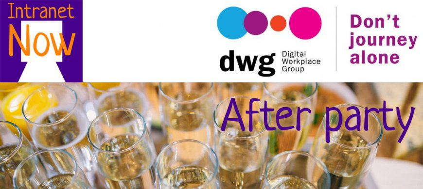 The Digital Workplace Group After Party