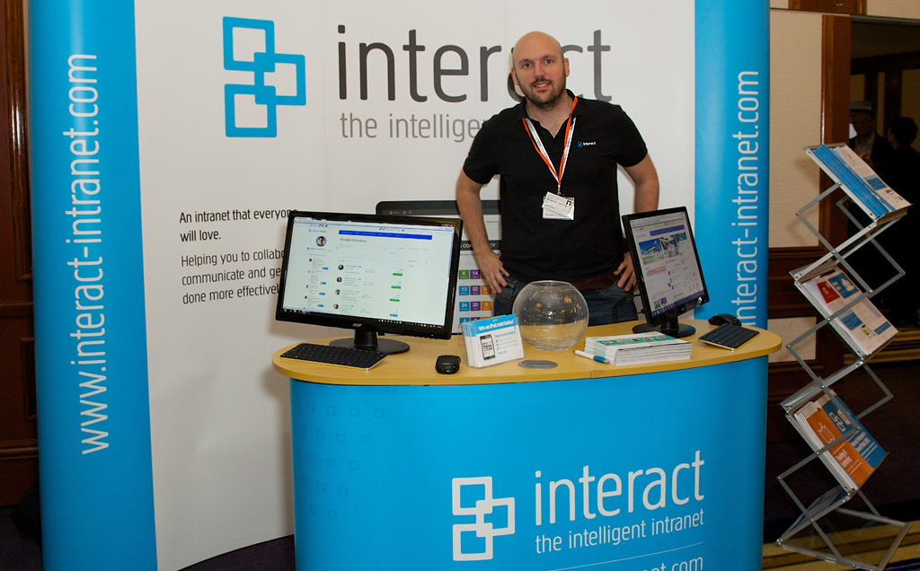 Interact stand 2014