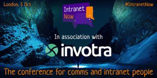 Intranet Now, in association with Invotra.