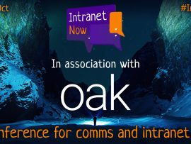 Intranet Now, in association with Oak.