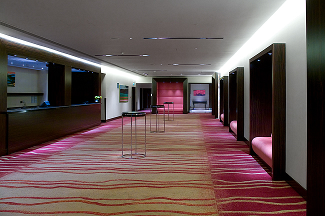 Park Plaza foyer
