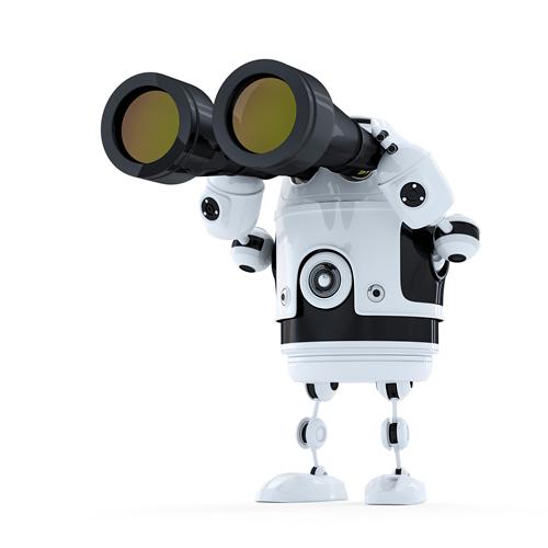 Robot binoculars