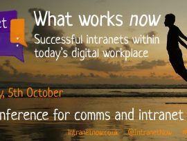 The six elements of the Intranet Now conference
