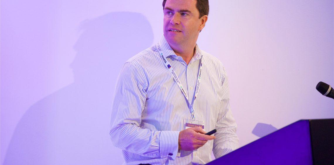 Simon Thompson speaking