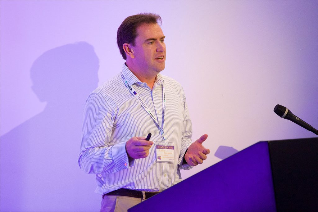 Simon Thompson of Experience Applied 2018.