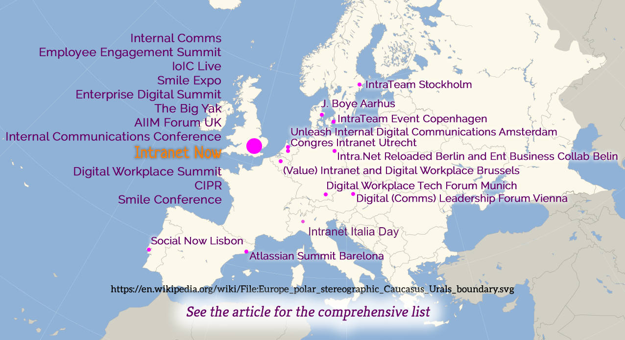 Conference map