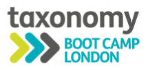 Taxonomy Boot Camp