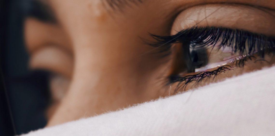 Eyes and mask.