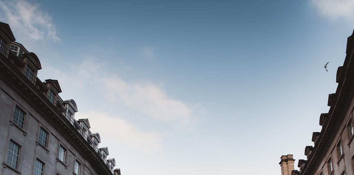 London sky.